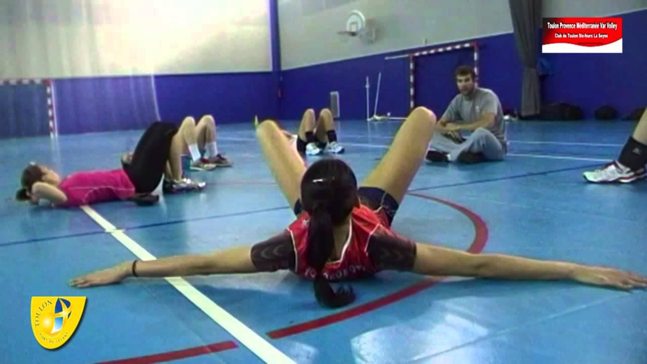 Volleyball Dream Team Toulon Womens Training Palais Sports Live TV 2013