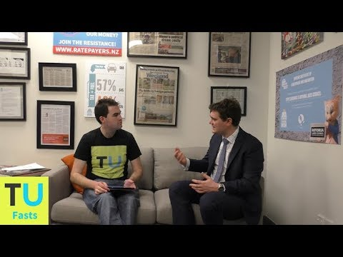 Fast Interview  - Jordan Williams from the New Zealand Taxpayers
