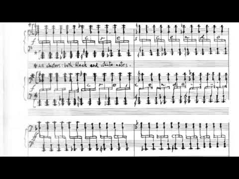 Frederic Rzewski - Winnsboro Cotton Mill Blues (for two pianos) [w/ score]