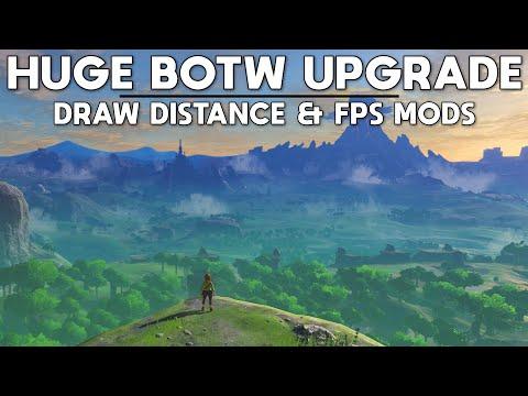 A Massive Update to Zelda BOTW on PC - Draw Distance & 120 FPS+ Update