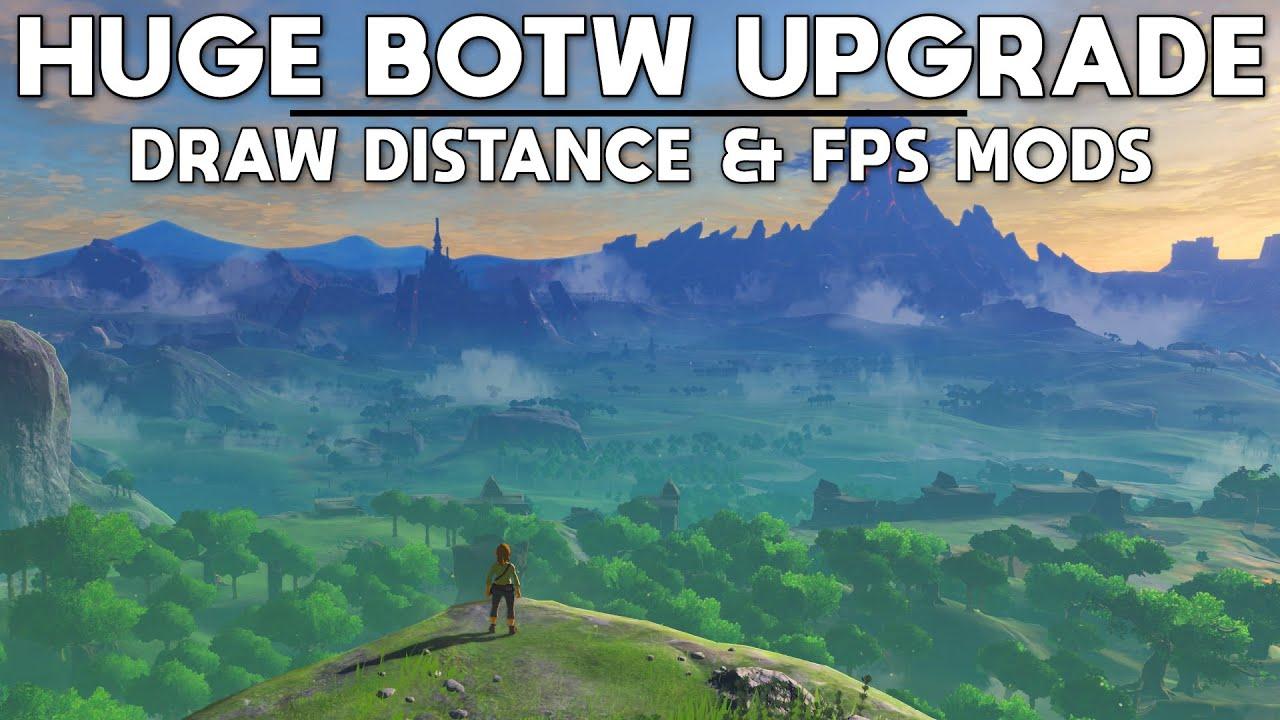 CEMU   A Massive Update to Zelda BOTW on PC - Draw Distance & 120 FPS+ Update