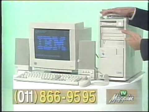 Computador Ibm Aptiva Pentium 166mhz Hd 3 1gb 16mb Ram