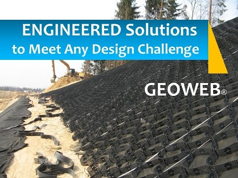 GEOWEB® Geocell Solutions for Roads & Highways