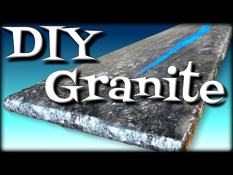DIY Granite Made From Wood