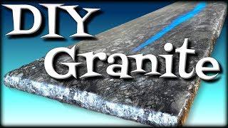 DIY Granite Made From Wood