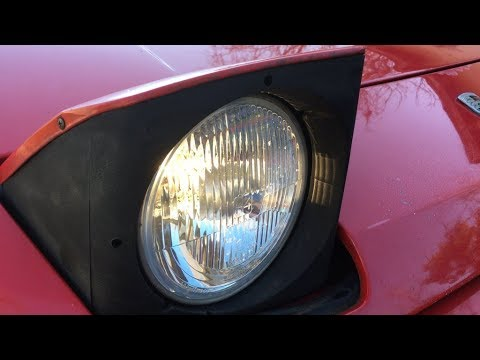 Installing H4 lights on my 924S