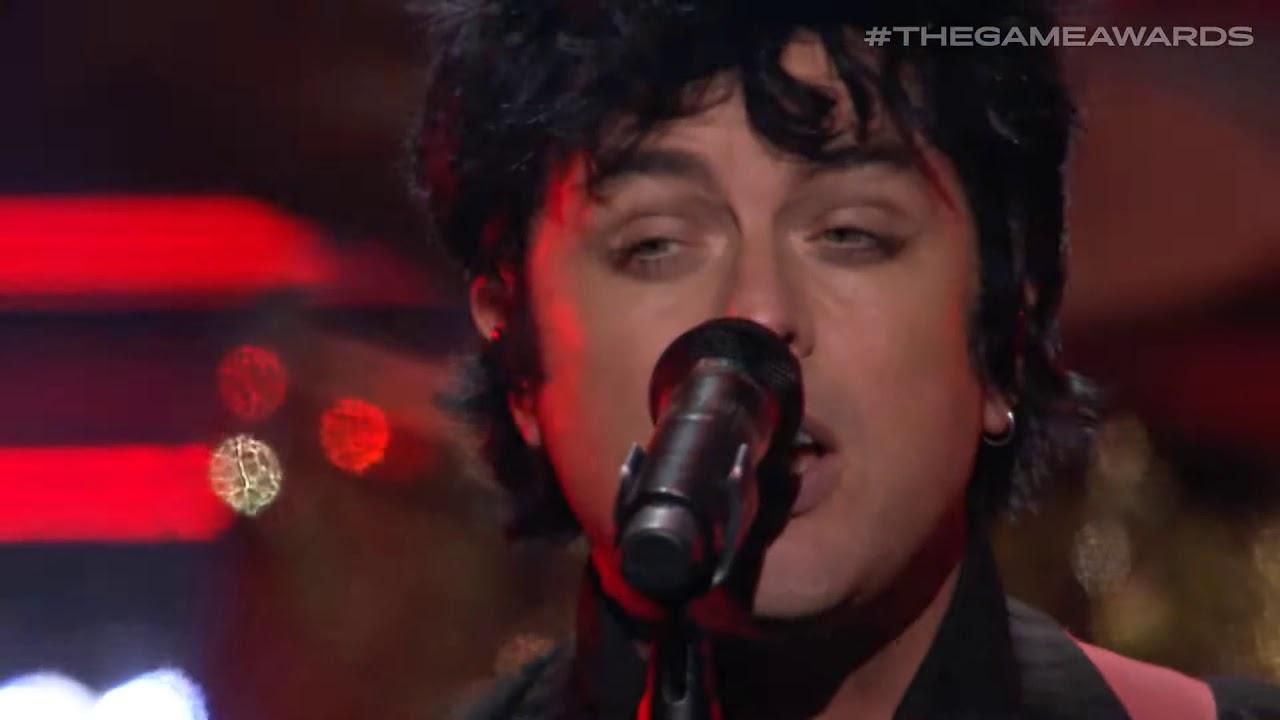 Resultado de imagem para Confira performance do Green Day na cerimônia do Game Awards 2019