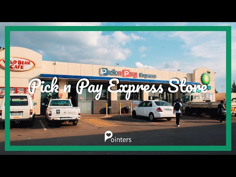PICK N PAY EXPRESS TEMBISA STORE — JOHANNESBURG | DRONE FOOTAGE | Pointers Travel