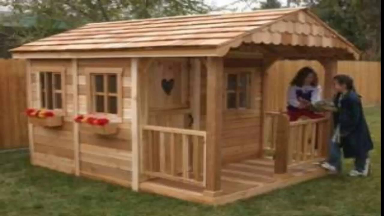 Superb Playhouse Plans Step By Step How To Build A Playhouse With Plans  Instructions With Videos And PDF