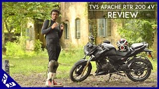 TVS Apache RTR 200 4V Review | Full video | RWR
