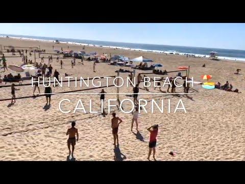 A Glimpse Of Huntington Beach California