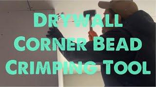 Drywall Corner Bead Crimping Tool Review