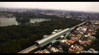 Bangalore Drone Aerial Video Stock Footage