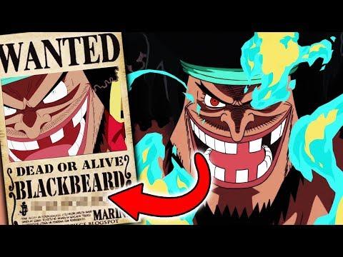 OMG! BLACKBEARDS KOPFGELD + NEUE TEUFELSFRUCHT ENTHÜLLT 😵 One Piece 925
