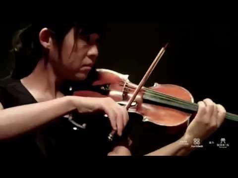 島田真千子(vn) 佐藤卓史 (pf) CD 「ヴァイオリンソナタの名曲中の名楽章集」 レコーディングリハーサル