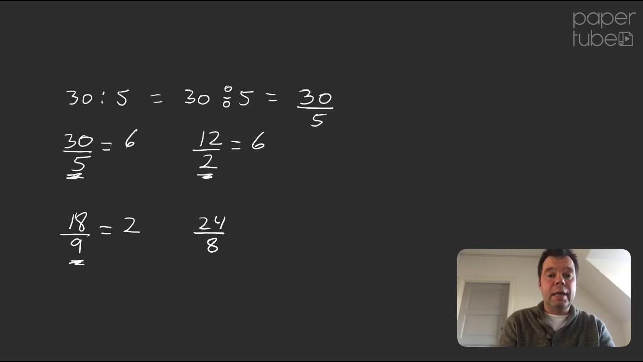 Hvordan dividere man, en introduktion til division