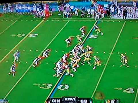 AARON RODGERS AMAZING TOUCHDOWN PASS!!!!!