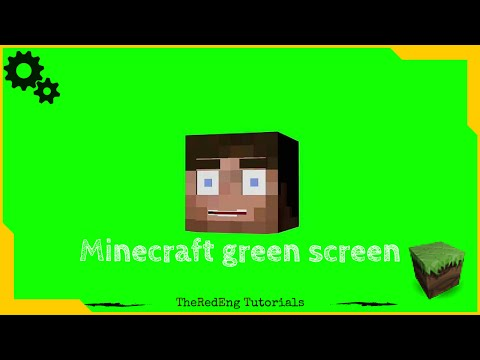 Minecraft Green Screen