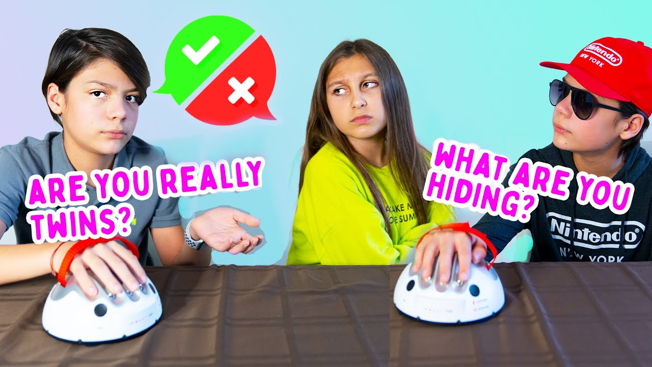 Interrogating MYSTERY TWINS with a lie detector