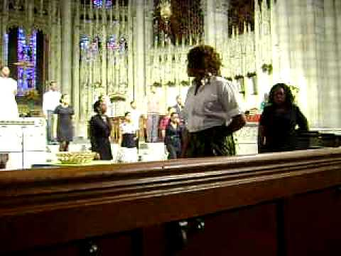 Brooklyn high school of the arts gospel choir singing True Religion