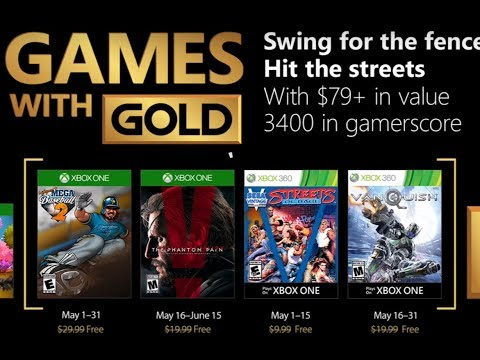 Games With Gold de Maio CONFIRMADOS!!! MGS V The Phantom Pain, Streets of Rage e Vanquish