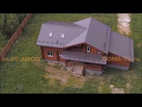 Строительство домов из бруса под ключ | Ярославль, Москва, Тула, Тверь