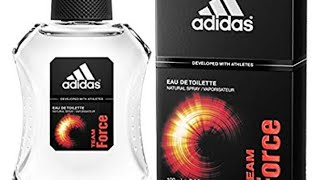 Adidas Team Force fragrance review link in the Description