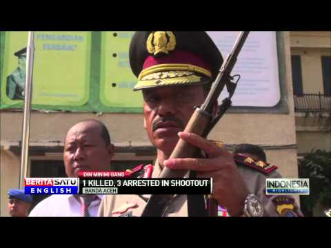 Aceh Gang Shootout Leaves 1 Dead, 3 Arrested