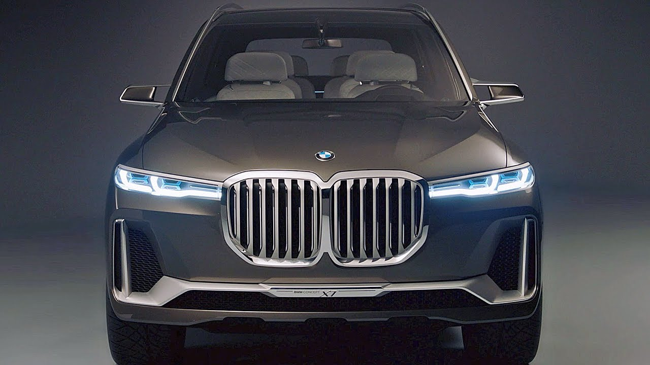 BMW X7 (2019) Ready to fight Range Rover soon - YouTube