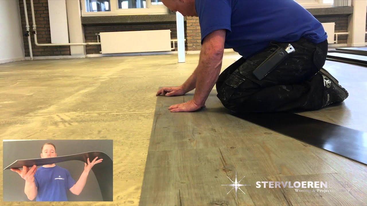 Pvc Vloeren Purmerend : Stervloeren pvc vloer leggen jbl g amsterdam youtube