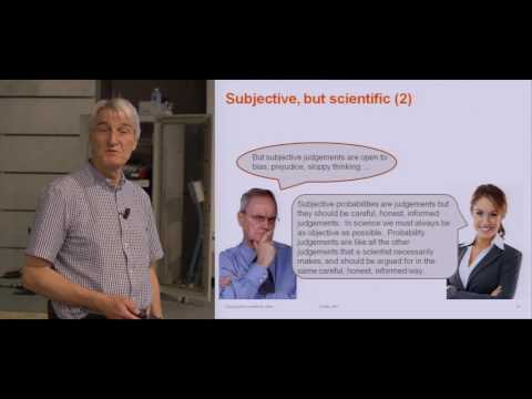 """""""Eliciting Expert Knowledge and Uncertainty"""" Anthony O'Hagan (University of Sheffield)"""