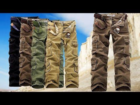 Отличные тактические, походные, армейские или военные мужские штаны из Китая. Aliexpress