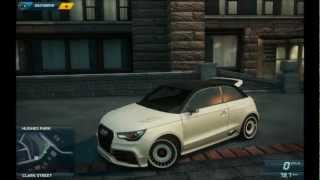 need for speed most wanted 2 sound audi a1 quattro clubsport hd