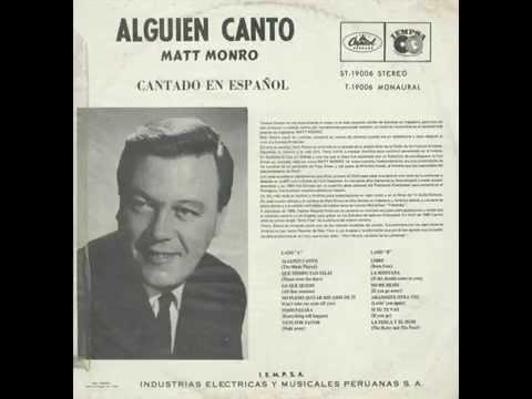 MATT MONRO - ALGUIEN CANTÓ LP