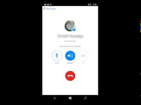 Windows 10 Mobile Facebook Messenger New look & Call Option