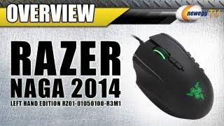 rAZER Naga 2014 Left Handed Expert MMO Gaming Mouse Overview - Newegg TV