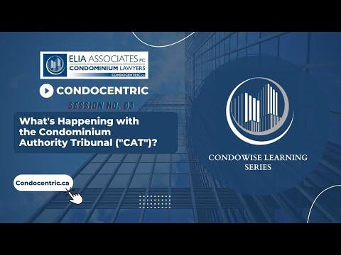 CondoWise Webinar Series - Session No. 3