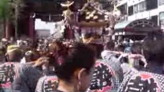 summer festival in asakusa japan....lovely day in the weekend....a ...