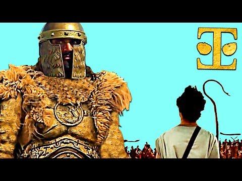 David and Goliath   Rare Accurate Version   Best KJV Bible Movie