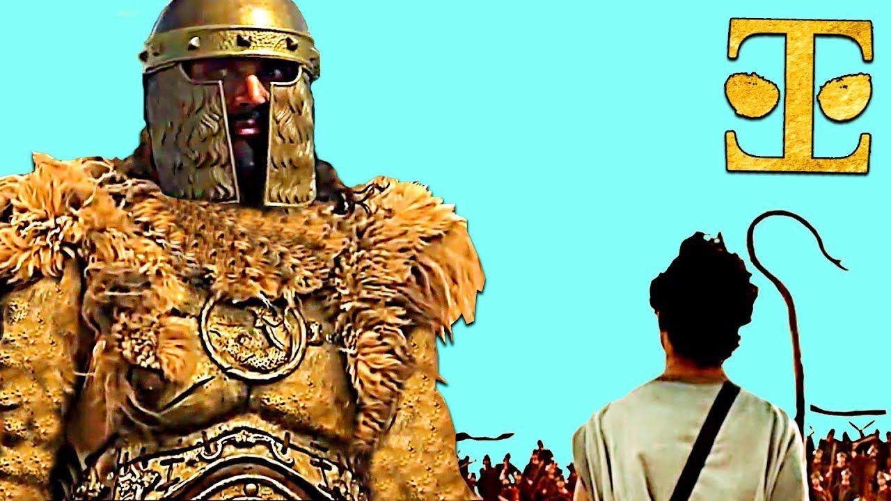 David and Goliath | Rare Accurate Version | Best KJV Bible ...