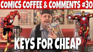 Comics Coffee & Comments #30, Flash Comics and other Key Comic books to get. CGC Comics