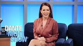 divertida entrevista conociendo a la actriz sofa lama dante night show