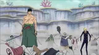 Zoro ve Sanji'nin rekabeti