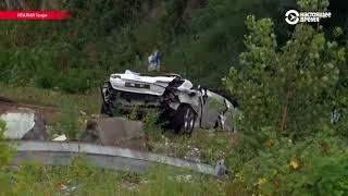 В Генуе рухнул автомобильный мост, десятки человек погибли