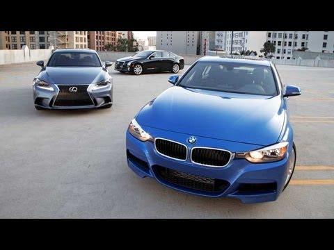 2013 BMW 328i vs 2013 Cadillac ATS vs 2014 Lexus IS250 | Sports Sedan  Comparison
