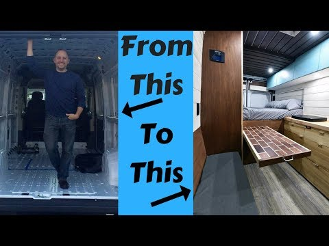 How I Converted My Van into a Stealth/Off Grid/Tiny Home Van