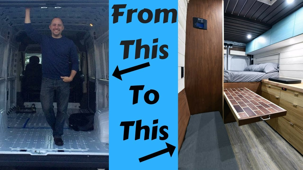 How I Converted My Van Into A Stealth Off Grid Tiny