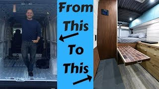 How I Converted My Van into a Stealth / Off Grid / Tiny Home Van thumbnail