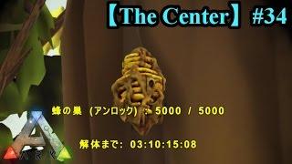 【失敗】ハチ(蜂)のテイムに挑戦!【Ark Survival Evolved(The Center)】【part34】【公式PVE】