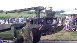 Bundeswehr Pioniere sPiBtl 130 aus Minden mit Amphibie M3 beim Felgenfest 2016 in Grossenwieden